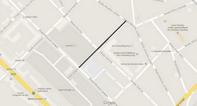 Restricții de circulație pe strada Bulgară