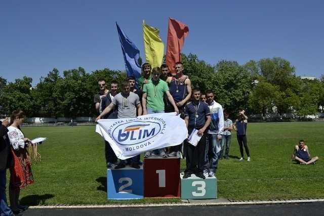 Studenții ULIM printre cei mai buni la atletism