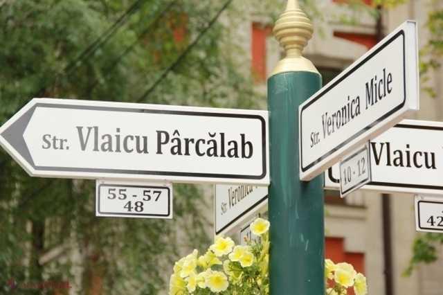 Indicatoare Europene la intersecțiile din Chișinău