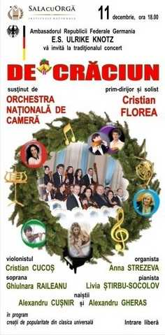 Concertul Tradițional organizat de Ambasada Germaniei