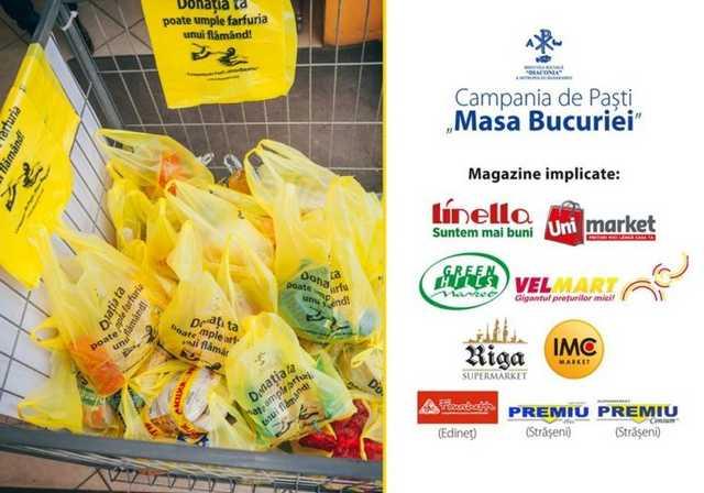 """Campania de Paşte """"Masa Bucuriei"""" """