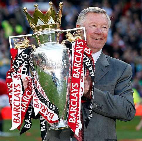 Sir Alex Ferguson, desemnat cel mai bun antrenor din istoria Premier League
