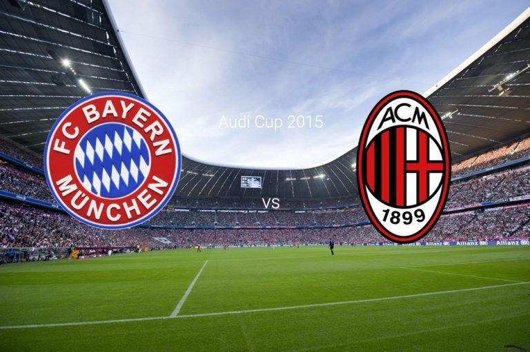 Bayern a câştigat meciul cu AC Milan de la turneul din Germania