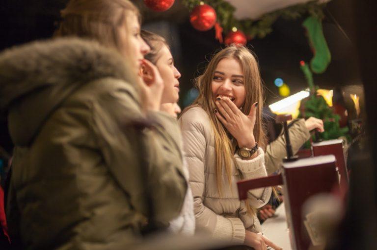 Inaugurarea primului Târg de Crăciun la Orhei