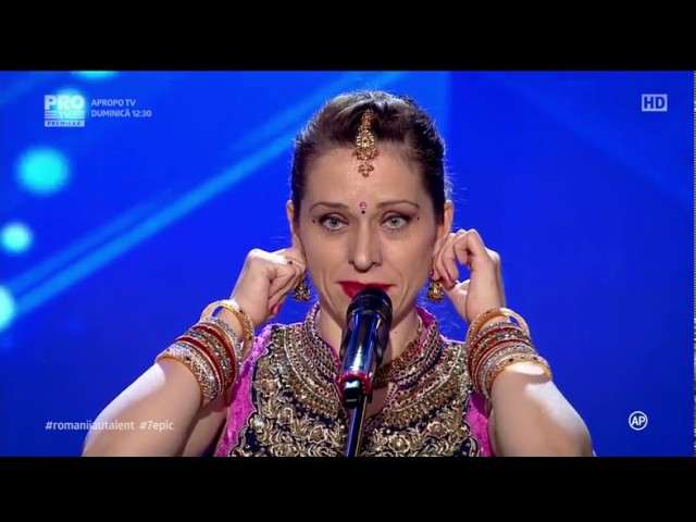 """Violeta Bhojwani a adus Bollywood-ul la ,,Românii au talent"""""""