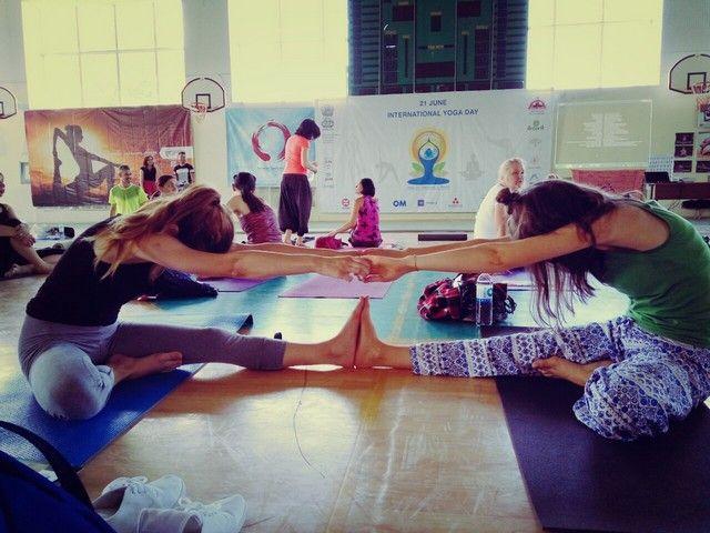 Ziua Internațională Yoga, sărbătorită la Chișinău