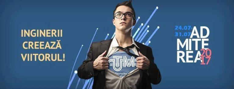Admitere 2017 UTM acum și pe Facebook