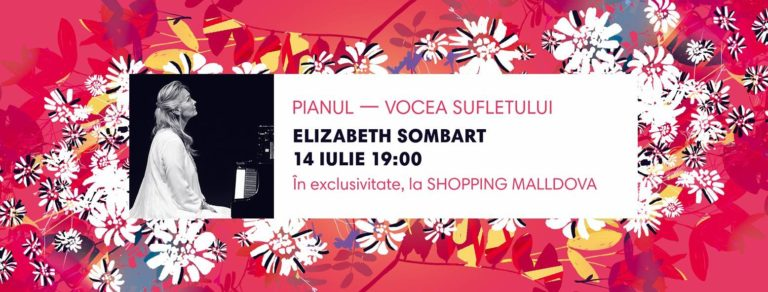 În exclusivitate, o seară de pian cu Elizabeth Sombart