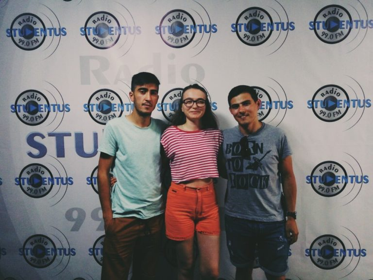"""Tineri și talentați"": Comedy Zebra Show în studioul radio Studentus"