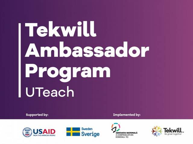 Tekwill Ambassador Program