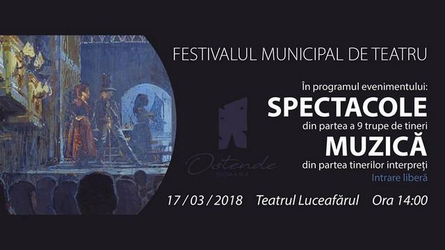 """Festivalul de Teatru """"Ostende"""" la a III-a ediție, vezi și tu"""