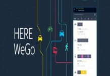 HERE WeGo maps