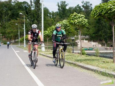 """În parcul """"Valea Morilor"""" vor apărea noi piste pentru bicicliști și alergători."""