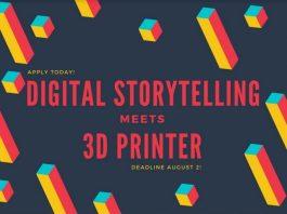 Digital Story Telling Meets 3D Printing