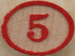 Numărul 5