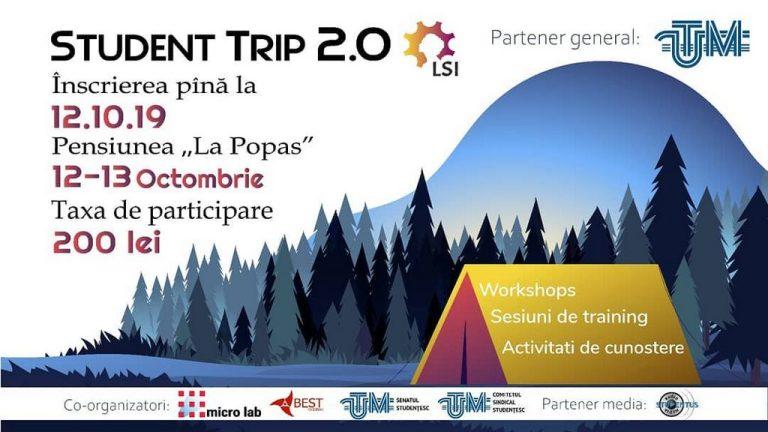 """Liga Studentelor în Inginerie de la UTM te invită la """"Student Trip 2.0"""""""