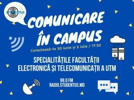 Facultatea Electronică și Telecomunicații,Comunicare In Campus,Radio Studentus,domeniul TIC