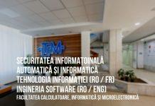 Tehnologia informație,Automatică și Informatic,Securitatea informațională,Ingineria Software