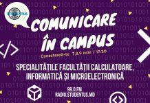 Comunicare In Campus,Fcim,Utm,Facultatea Calculatoare Informatică și Microelectronică