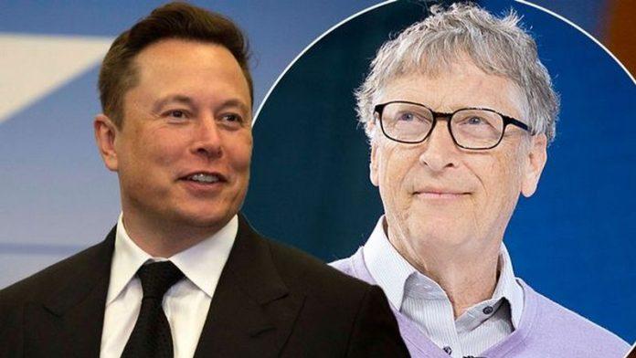 Ilon Mask si Bill Geits,Tesla