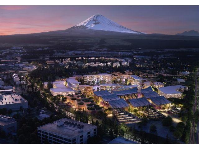 Toyota constuiește un oraș inteligent la poalele Muntelui Fuji