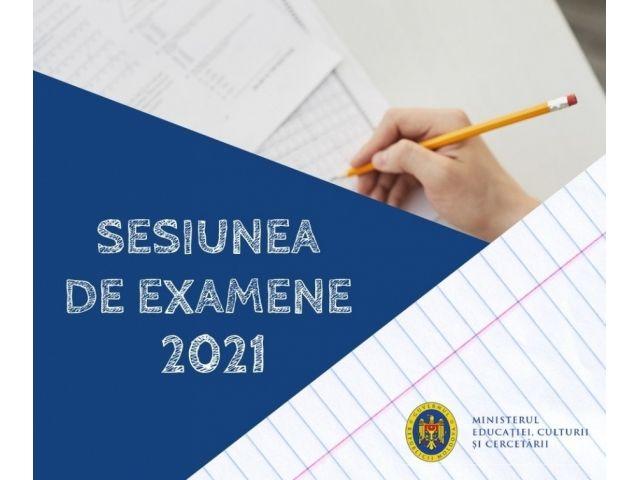 Prima probă de examen din cadrul sesiunii 2021 pentru absolvenții gimnaziilor